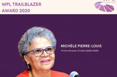 Michèle Duvivier Pierre-Louis, Prix WPL Trailblazer 2020